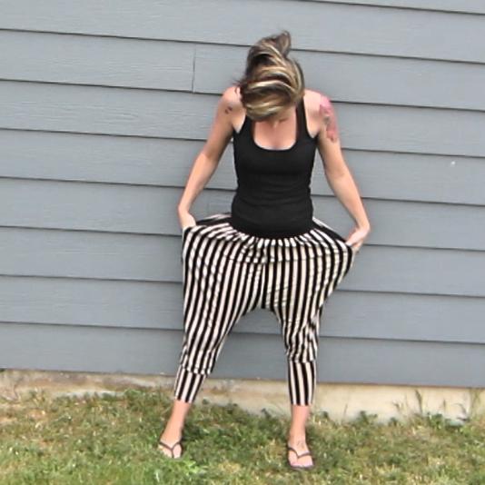 Stripey Pants 3